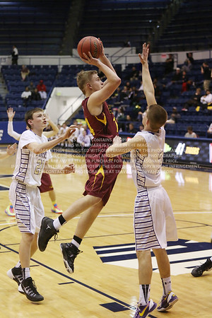 CHSAA High School State 3A Boy's Basketball Championships Brush vs Holy Family March 13, 2014