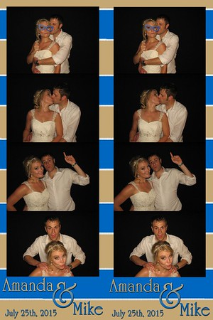 Amanda and Michael July 25, 2015