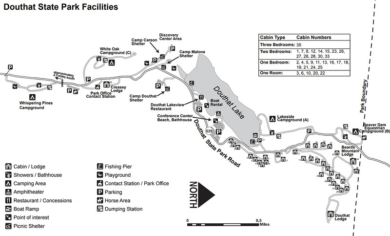 Douthat State Park (Facilities Map)