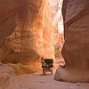Canyon leading to Petra