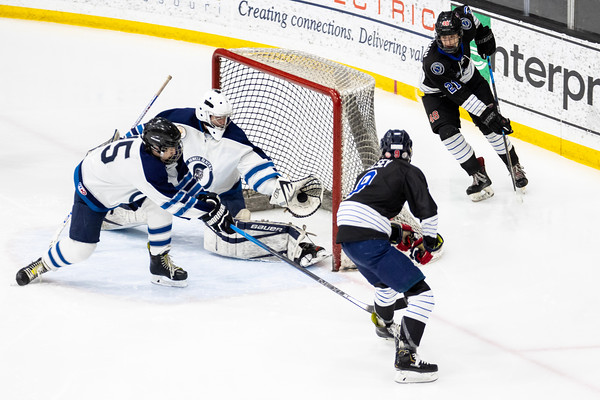 Ice Hockey: Francis Howell Central vs Duchesne Leg Two
