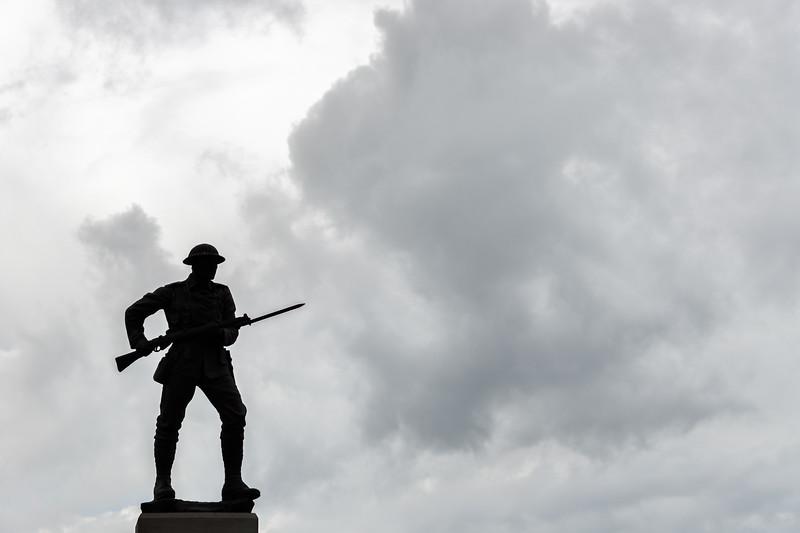 War Memorial - Portstewart, Northern Ireland, UK- August 17, 2017