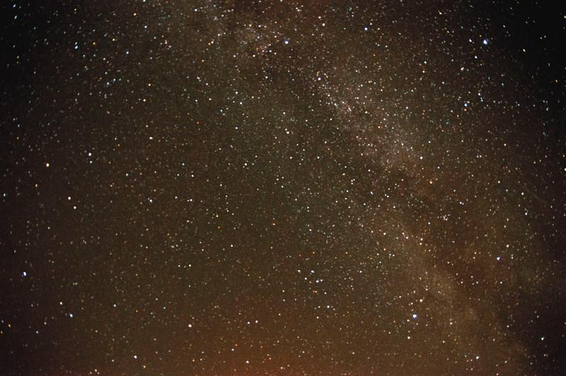Milchstraße Sternbild Füchschen und Leier