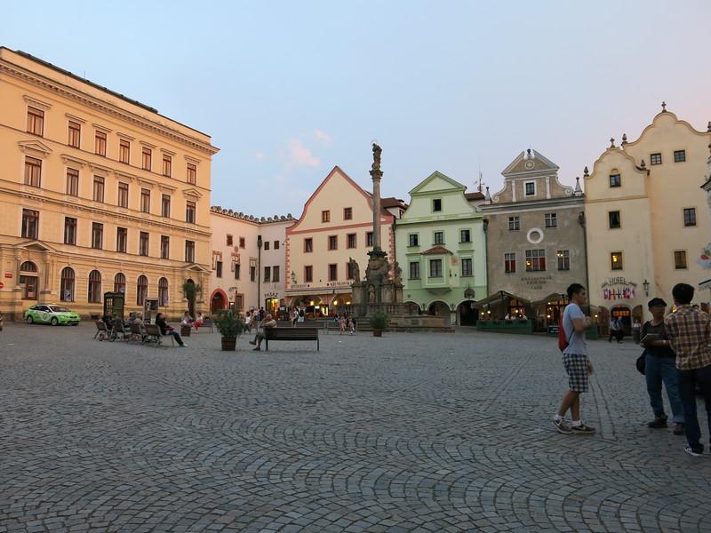 Town square @ Cesky Krumlov