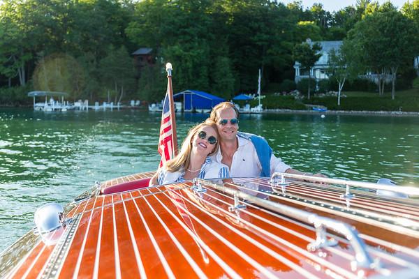 Engagement Photography Walloon Lake Sarah Bjorn