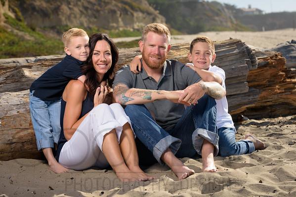 Karly R (Family Portrait Photography) @ Seabright Beach, Santa Cruz, California