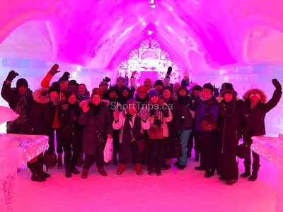 Quebec City Ice Hotel & Winter Tour • Feb 2-4, 2019