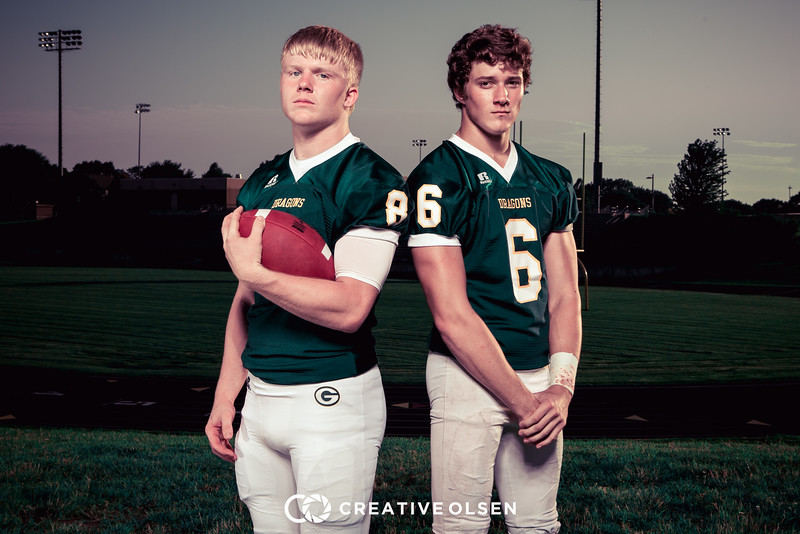 Gretna High School Football Team Senior Class 2016