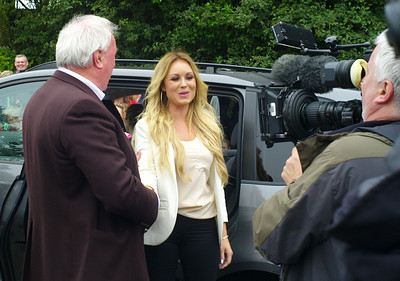 Celebrity Coach - Irish Fun on a Dull Day, July 2012