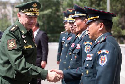 ОХУ-ын Батлан хамгаалахын орлогч сайд, хурандаа генерал А.В. Формин айлчилж байна