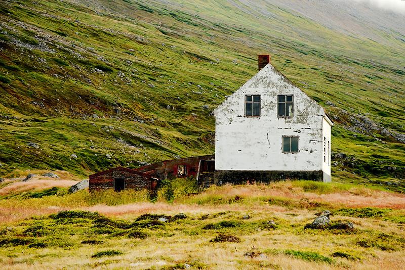 Grunnavík - Staður. Prestbústaðurinn að Stað í Grunnavík.