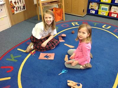 Project with PreK4s and Fifth Grade