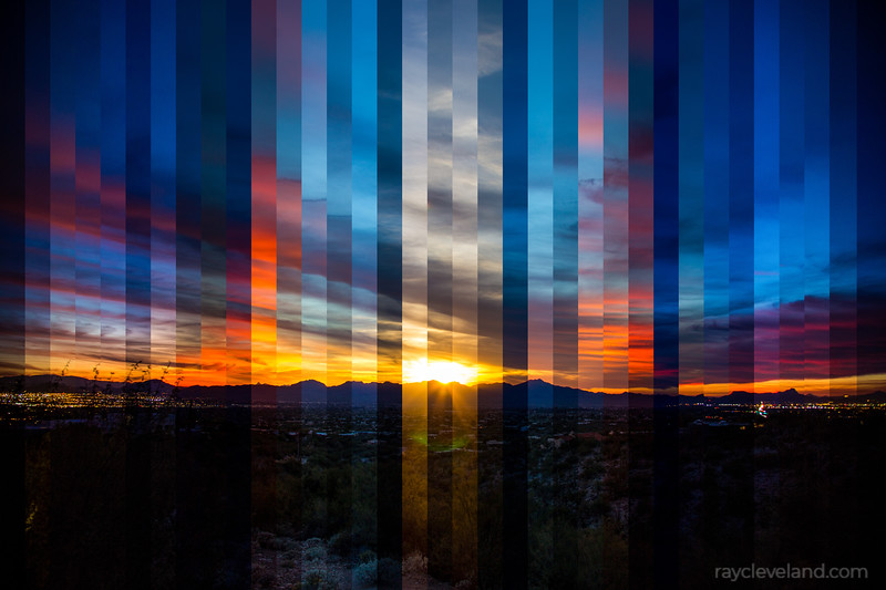 Sunset Timelapse Stitch