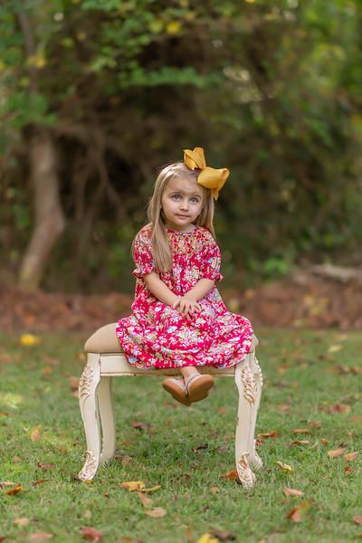 Olivia at 3