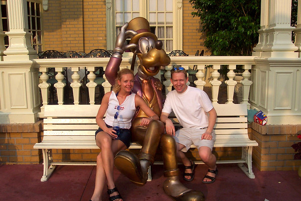 "Our 1st ever visit to ""Walt Disney World"" in Florida- July, 2004"