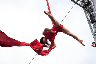 2018-07 Montréal Complètement Cirque - Extérieur