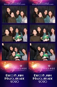 3/9/20 - Village Synagogue Disco Purim Masquerade