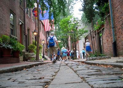 Philadelphia, Walking the Beautiful Streets