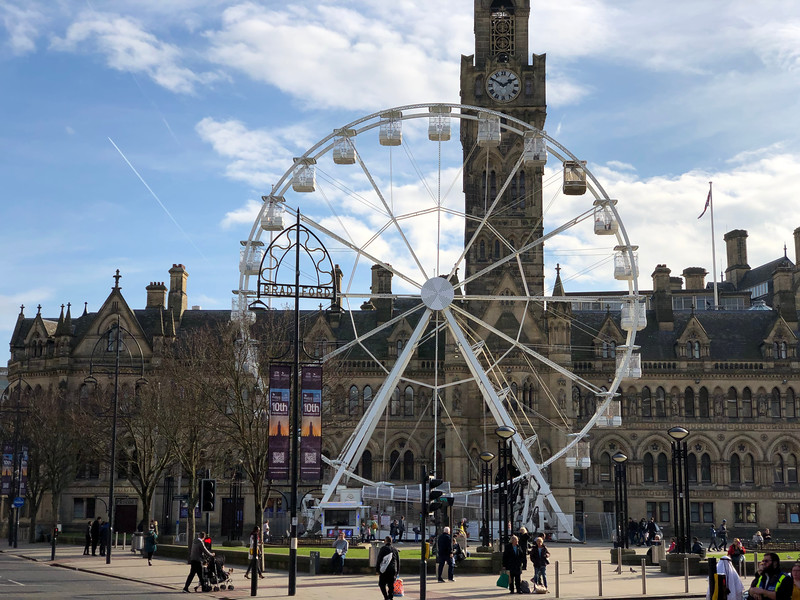 City Hall Bradford and Ferris Wheel
