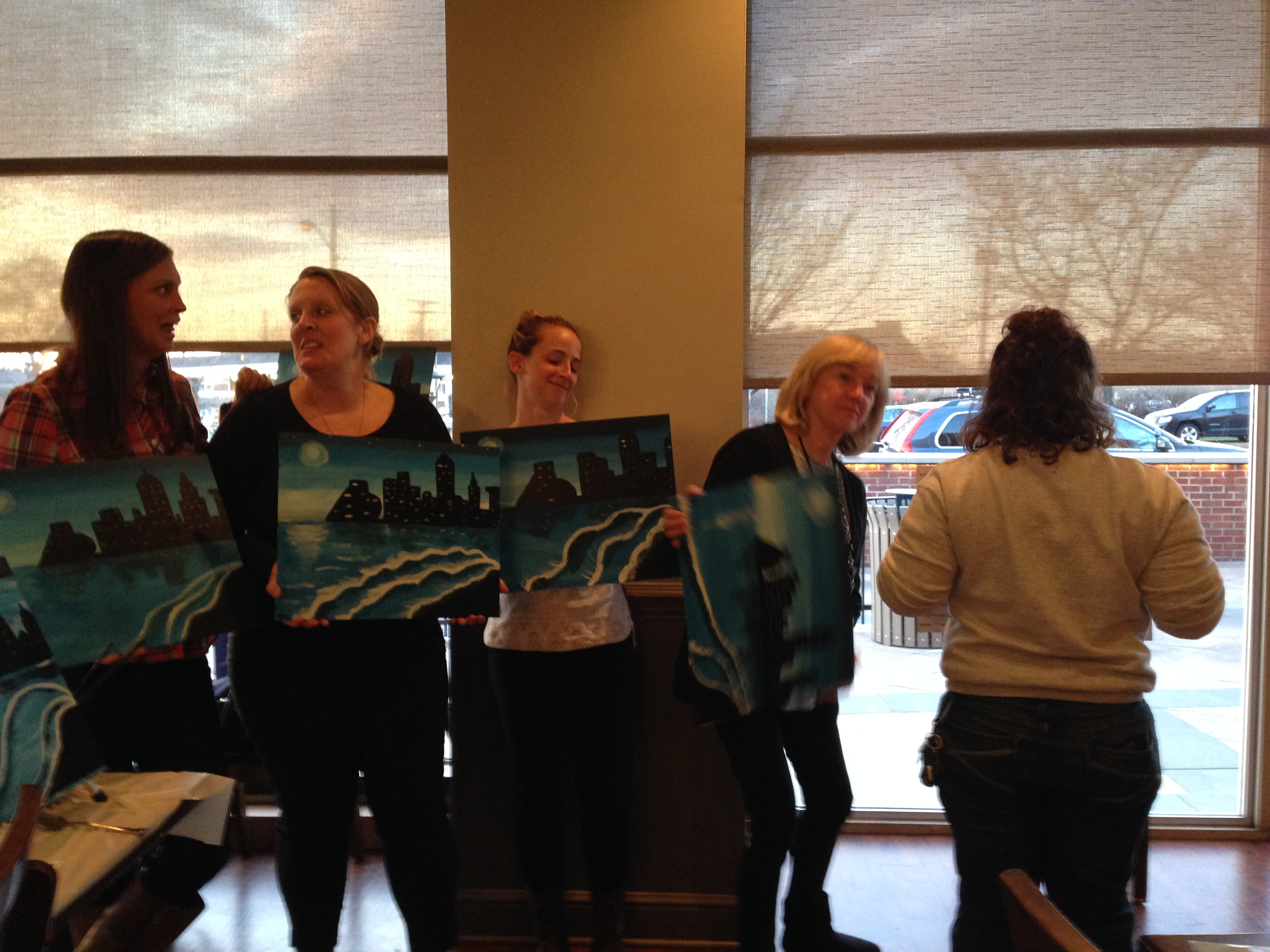Sweet Melissa's Wine and Painting event 3/21/16