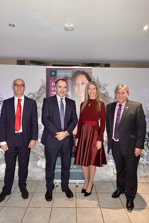 IoD Isle of Man Dining Club with Treasury Minister Alf Cannon 2020