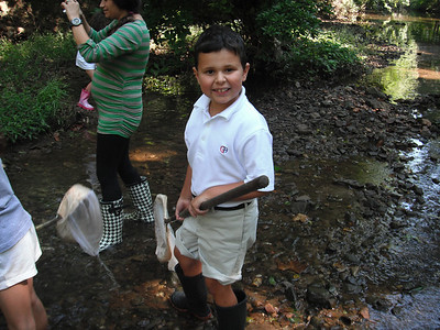 2nd Grade 2J's trip to the creek