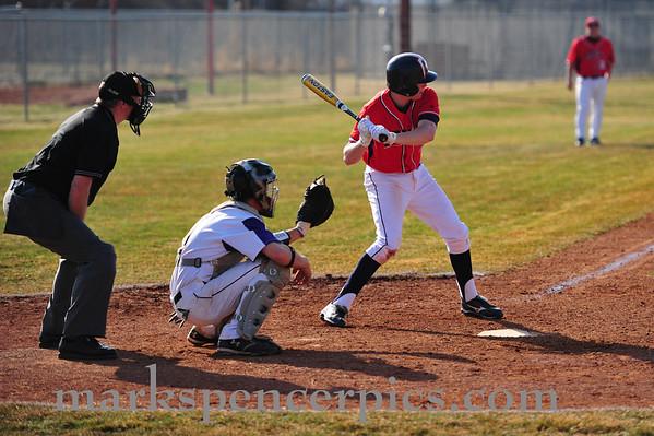 Baseball Springville vs Lehi 3-15-10