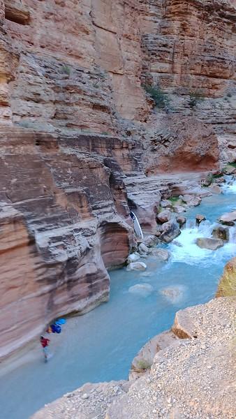 At Colorado River confluence (2,093 ft)