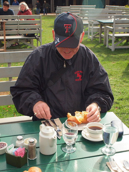 The Infamous Popover at Jordan Pond, Acadia National Park
