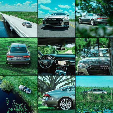 Audi Grid Layout
