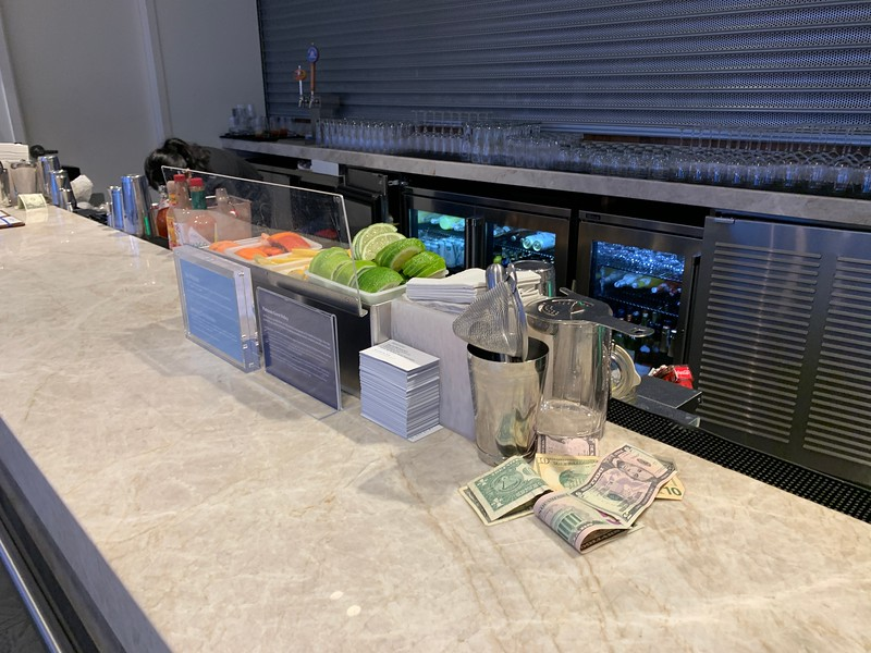 AMEX CENTURION lounge at Seattle Airport