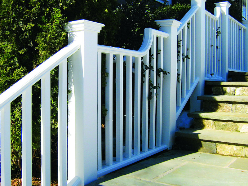 185 - NY - Pendleton Railing with Special Curves
