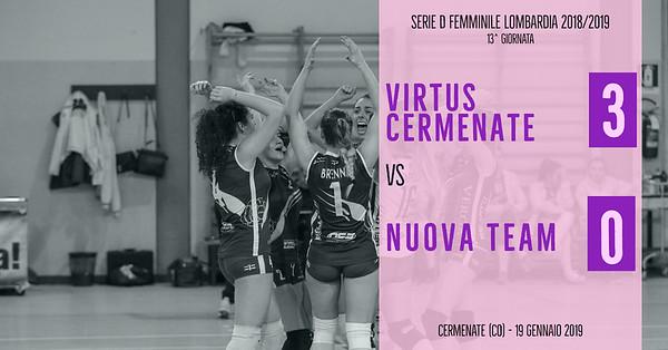 LOM-Df: 13^ Virtus Cermenate - Nuova Team