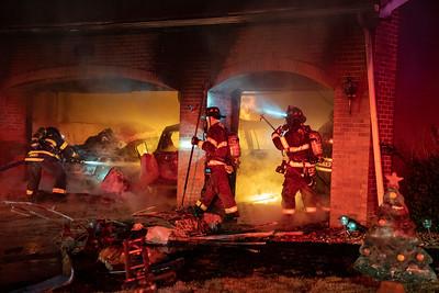 Briargrove Way Garage Fire