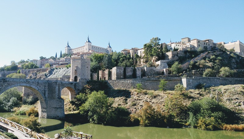 River view of Toledo, Spain
