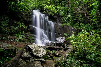 Waterfalls Near Lake Rabun