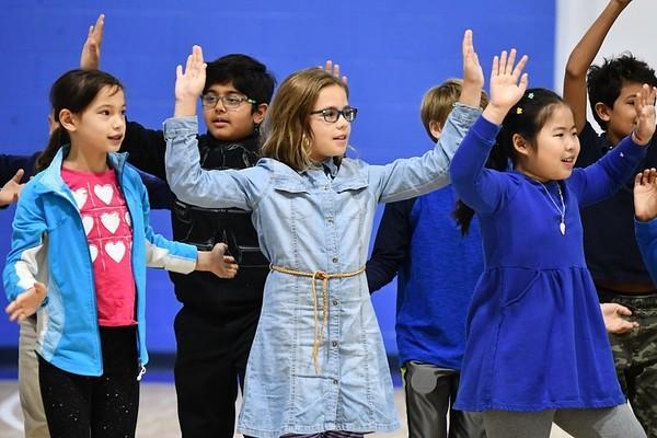 "Fourth Graders Perform ""El Himno de las Américas"" for Hispanic Heritage Month"