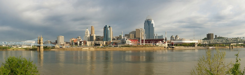 Cincinnati Skyline - early spring morning