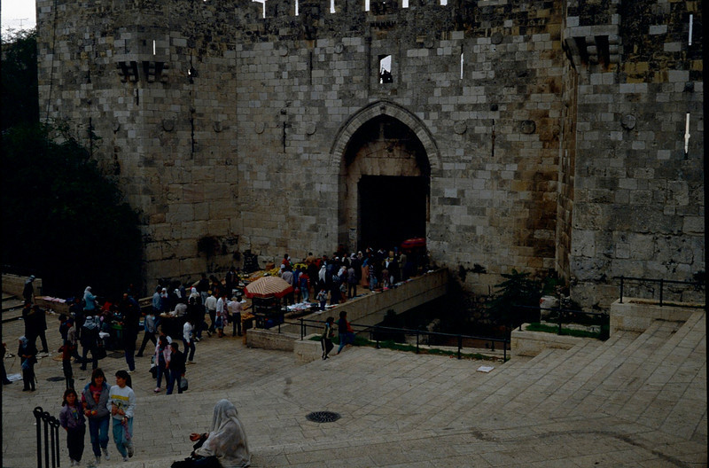 one gate into old Jerusalem