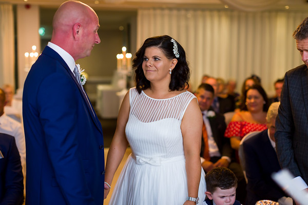 Rachel and Alan at The Best Western Plus Glendower Hotel, St Annes
