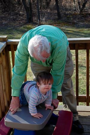 Grandma and Grandpa's Visit - Wednesday Night