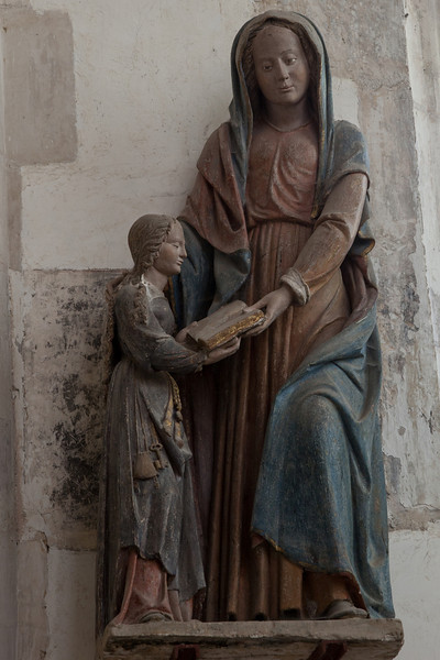 Chaource - Education of The Virgin