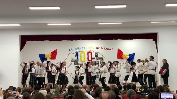 La mulți ani, România! 100 de ani - Comuna Valcău