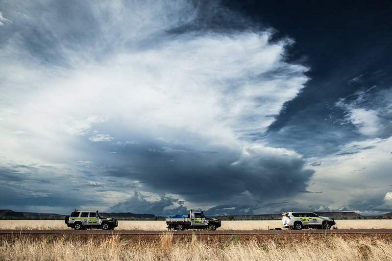 Chasing storms in the outback. Epic! #BBCMonsoon