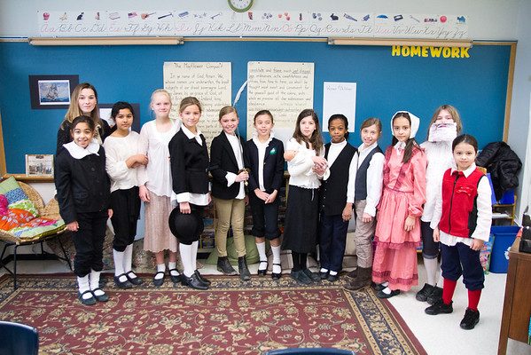 Grade 4 Mayflower Voyage