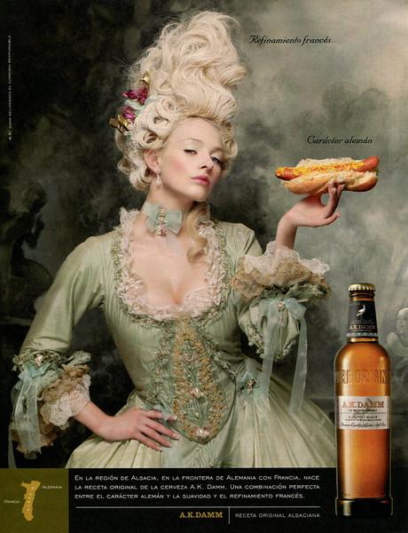 2008 A.K. DAMM beer Spain (La Vanguardia Magazine)