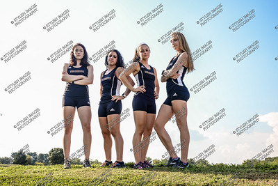UC Cross Country Team and Seniors 2018-19