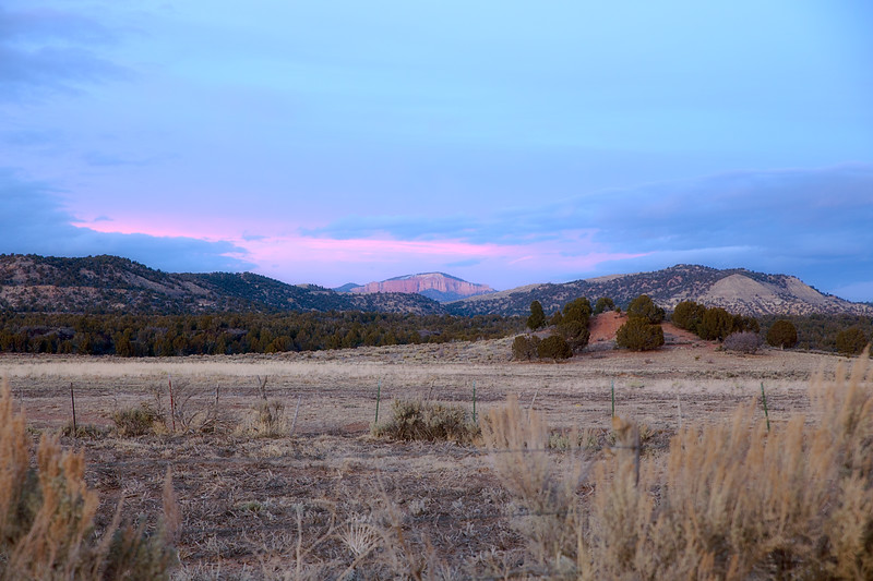 Sunsetting in Escalante
