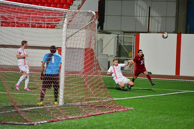 Football - Olympique 0 - 2 Europa Point - Division 2