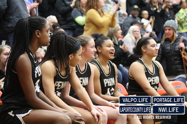 GIRLS BASKETBALL Regional Championship 2020 La Porte vs. Penn High School
